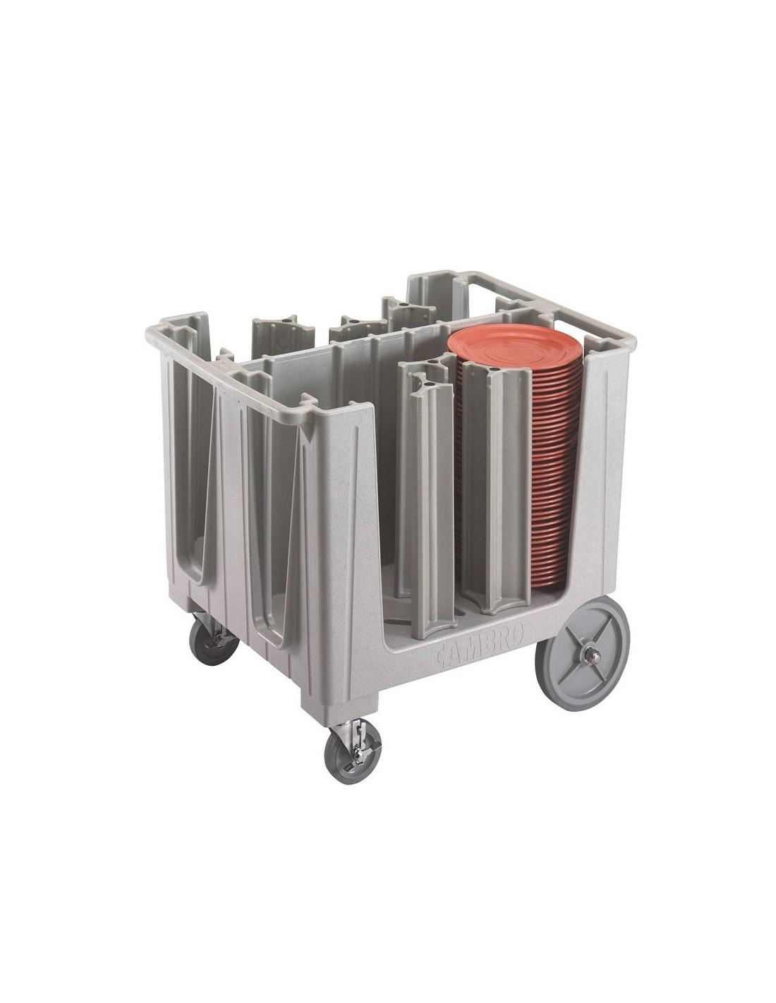 Carro para platos cambro adcs401 for Carros para transportar