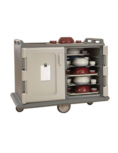 Cambro mdc1520s20 carro porta charolas for Porta utensilios cocina