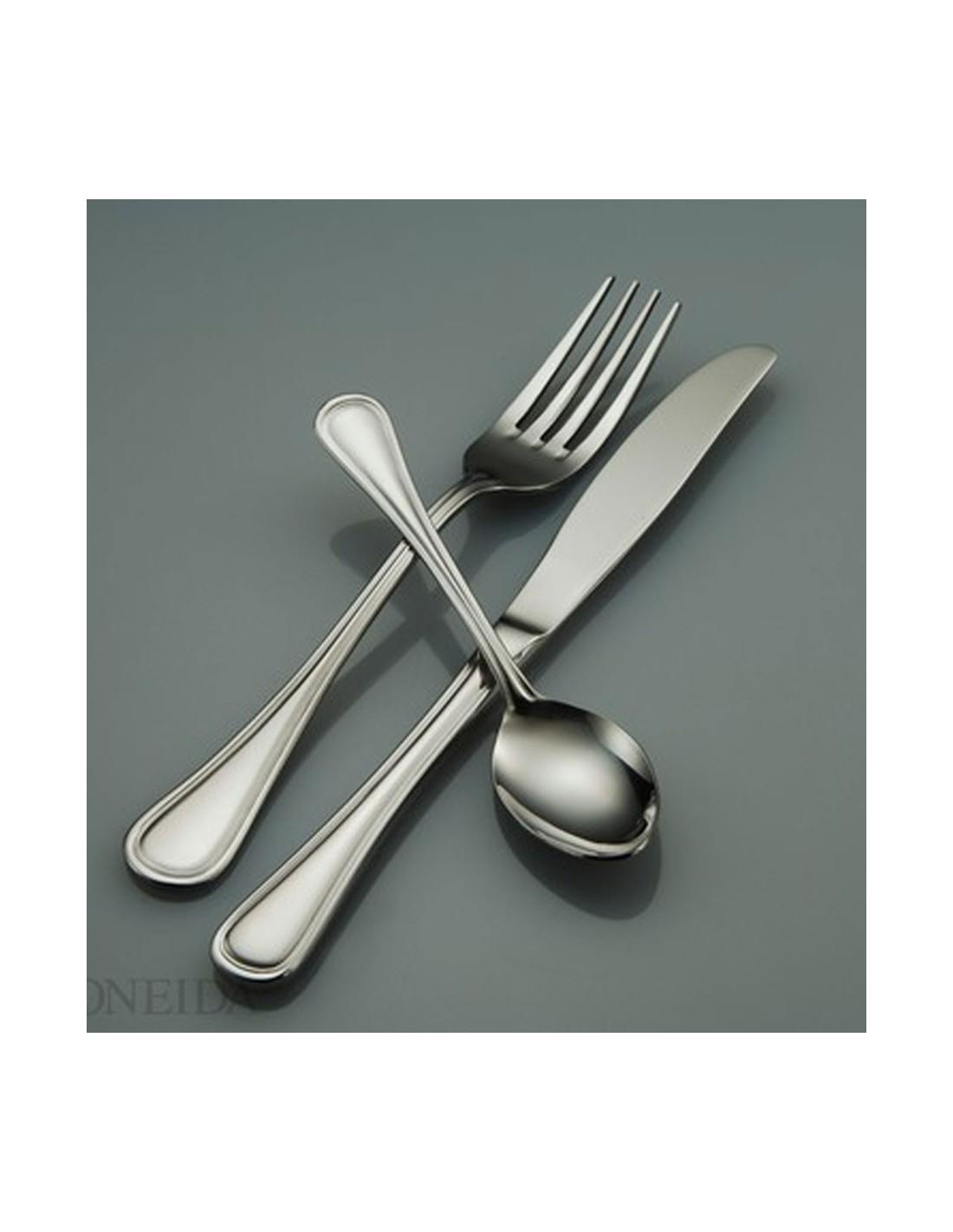 Tenedor mesa new rim oneida for Tenedor y cuchillo en la mesa