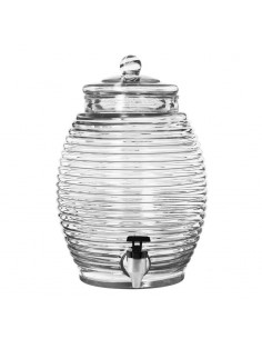 Libbey 92165 Barril Vitrolero con Dispensador 11 litros