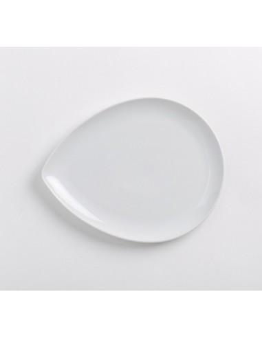 Platon de porcelana fina en forma de gota Kahla Diner 553361 Fine Porcelain