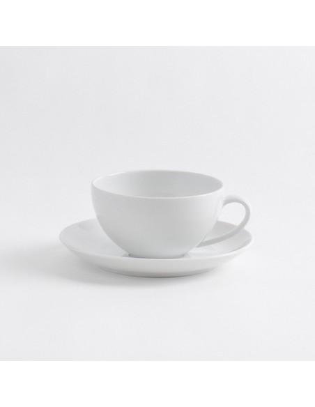 JGO TAZA Y PLATO PARA CAFÉ DÎNER