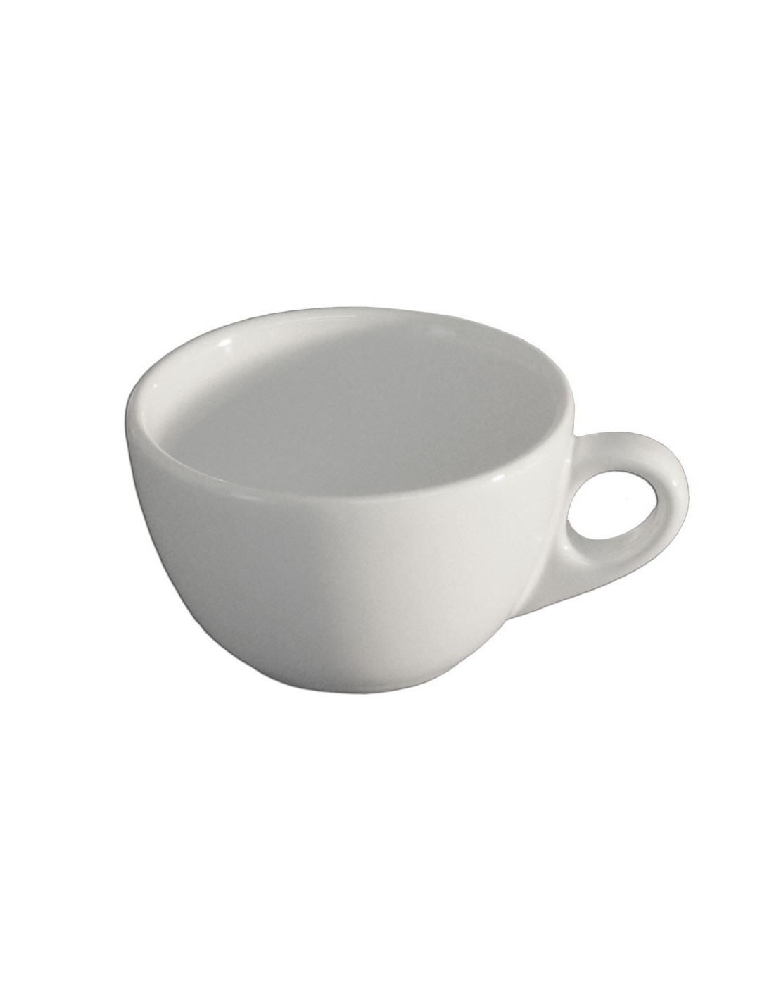 Taza para caf anfora blanco polar for Vajilla cafe
