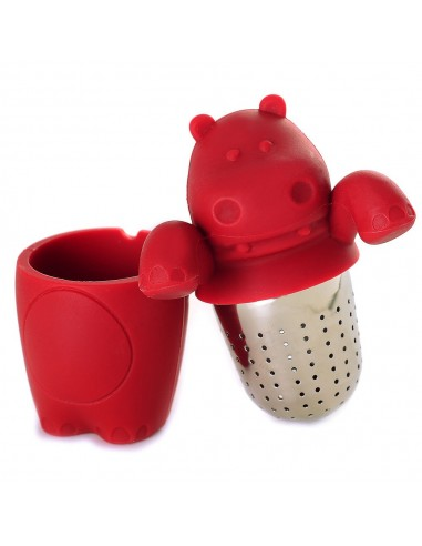 Infusor de Hipopotamo Norpro 5646 Hip-Teapot-Amus Tea Infuser