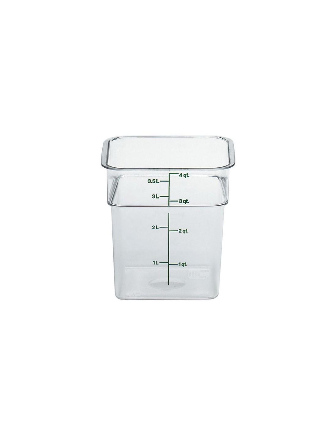 Recipiente cuadrado para almac n for Recipiente para utensilios de cocina