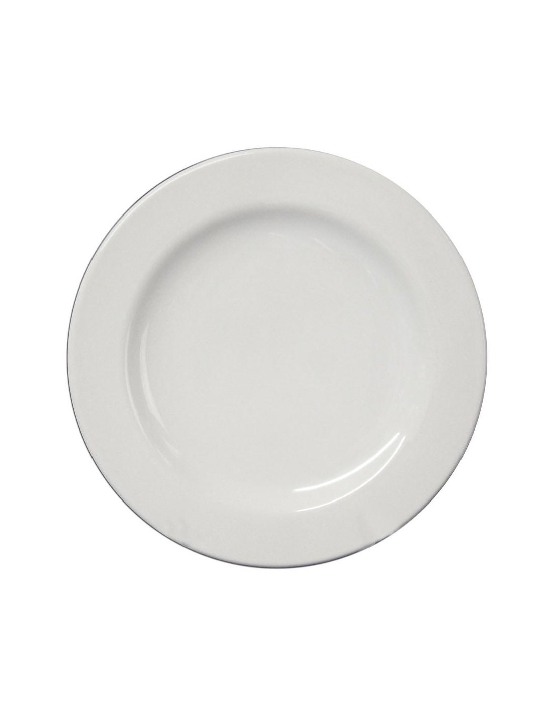 Plato trinche 16 cm anfora blanco polar for Vajilla de platos