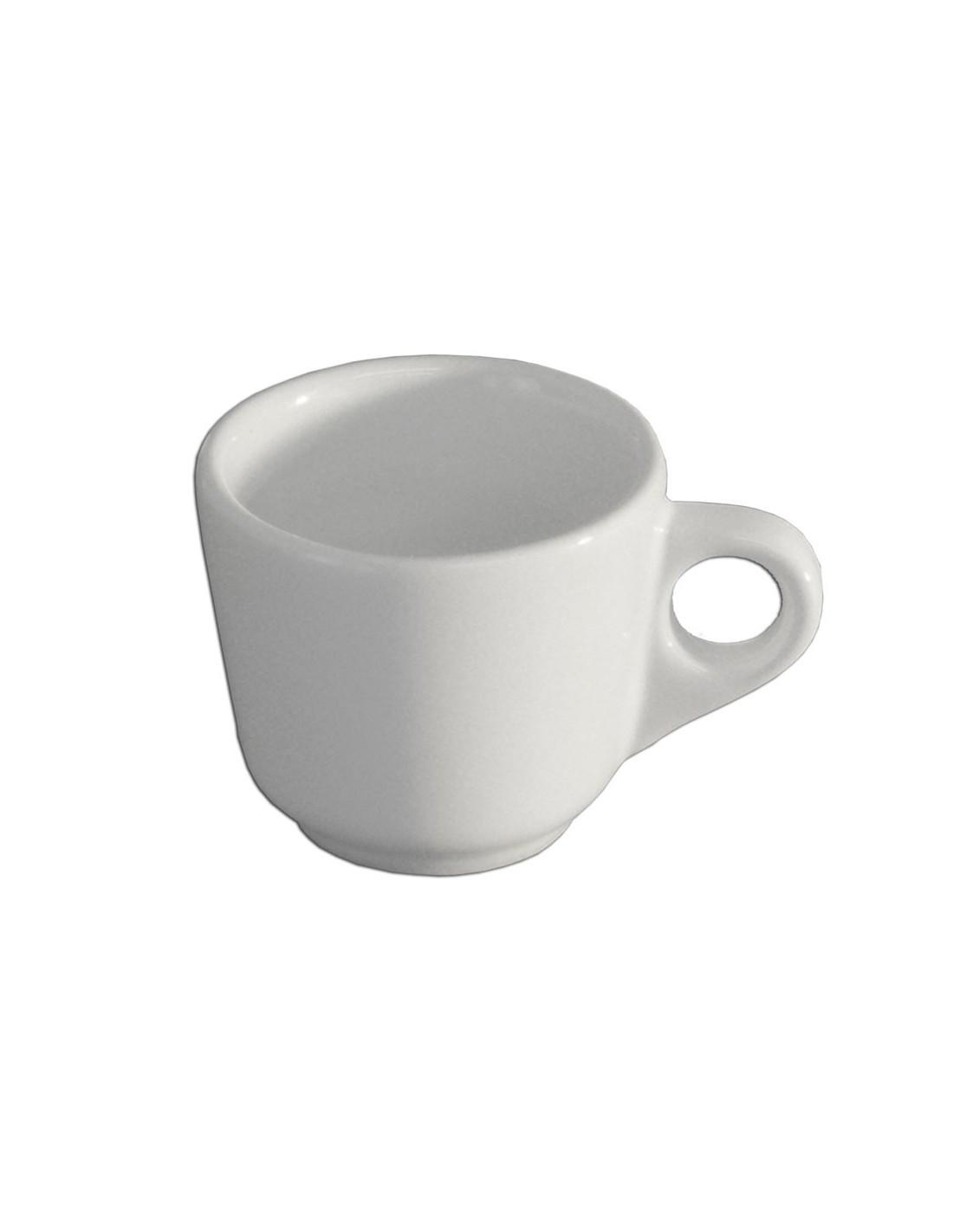 Taza moka o para espresso anfora blanco polar for Tazas para espresso