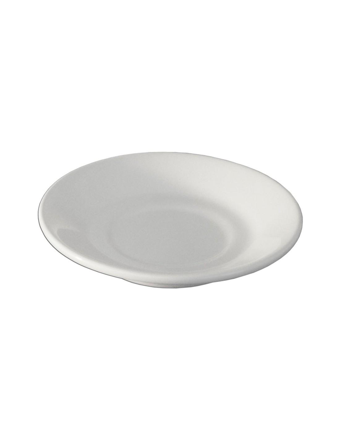 Plato para cafe embrocable anfora blanco polar for Plato blanco