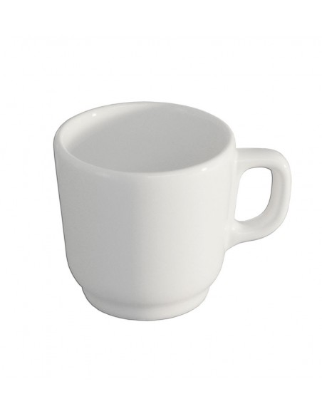 TAZA PARA CAFE MUG 260 ML BLANCO POLAR