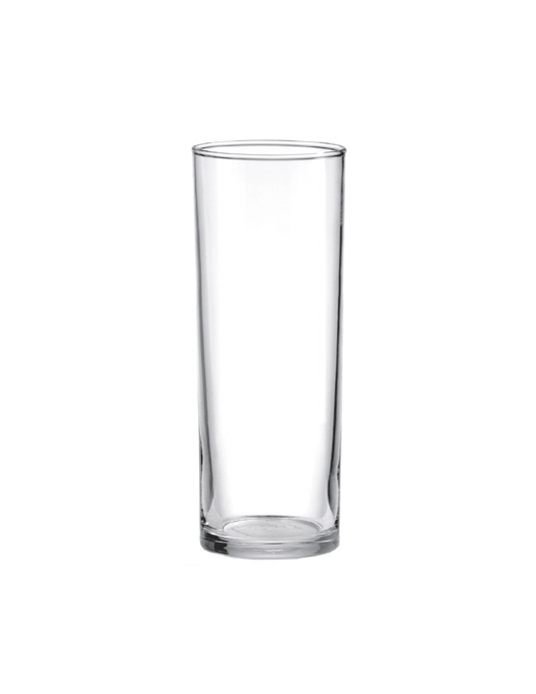Crisa 9601 vaso tubo lunita 315 ml for Vasos de colores de cristal