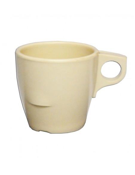 TAZA PARA CAFE ESTIBABLE 219ML MELAMINA