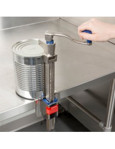 edlund 2 abrelatas de mesa manual industrial edlund 12100