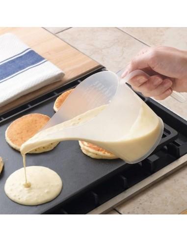 Jarra medidora con embudo para hotcakes y reposteria Norpro 3038
