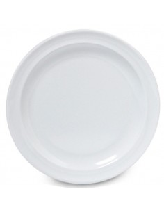 GET DP-506 Plato Trinche 16.5 cm Melamina Blanca