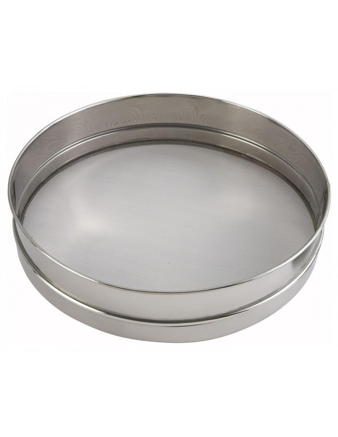 Tamiz Cernidor Redondo Para Harina Winco Siv 12
