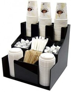 Organizador para Vasos y Tapas para Café Winco CLSO-3T