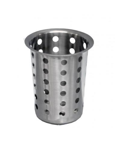 WINCO FC-SS Portacubierto cilindrico de acero inoxidable