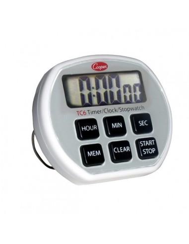 Timer de Cocina Cronometro Digital Cooper TC6