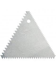Peine para Betun Triangular Ateco 1446 Icing Comb