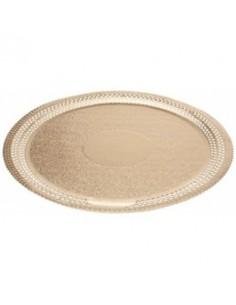 Plato para pastel dorado 20 cm Ateco 1808