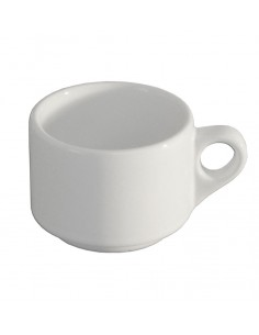 TAZA PARA CAFE EMBROCABLE BLANCO POLAR
