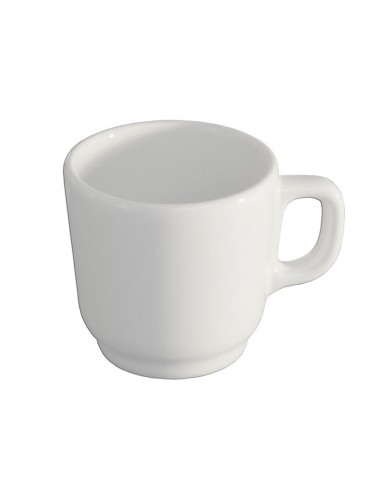 ANFORA POLANFMUG TAZA PARA CAFE MUG 260ML BLANCO POLAR